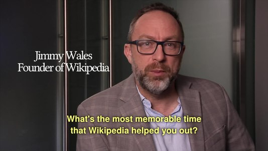 File:What's the most memorable time that Wikipedia helped you out?.webm