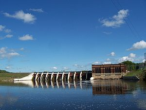 Menominee River - White Rapids Hydroelectric dam