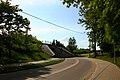 Wiadukt kolejowy w Bartoszycach. Widok od strony ulicy Leśnej. - panoramio.jpg