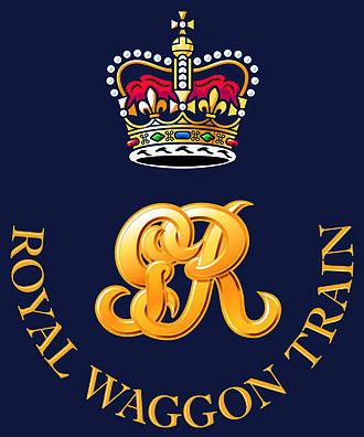 Royal Waggon Train - The badge of the Royal Waggon Train 1792–1832