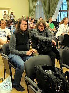 Wiki Party in Moscow 2013-05-18 (Wiki Award; Krassotkin; 19).JPG