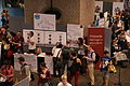 Wikimania 2014 Grantmaking Community Village stall.JPG