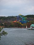 Wildwater Kingdom slides from across the lake.jpg