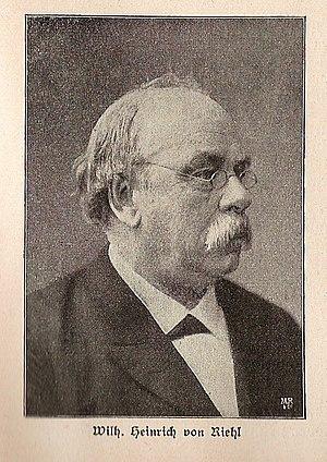 Wilhelm Heinrich Riehl - Wilhelm Heinrich Riehl