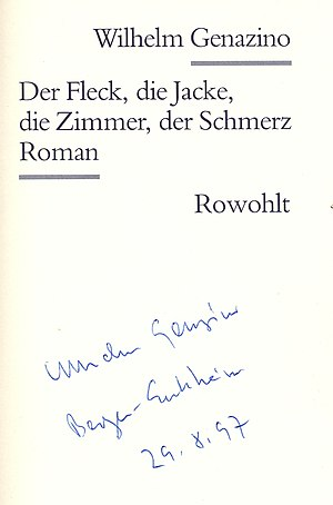 Wilhelm Genazino - Image: Wilhelmgenazino 002