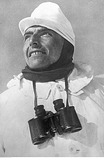 Willy Bogner Sr. German skier and entrepreneur