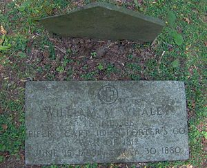 Greenbrier (Great Smoky Mountains) - The grave of William Whaley, one of Greenbrier's first Euro-American inhabitants