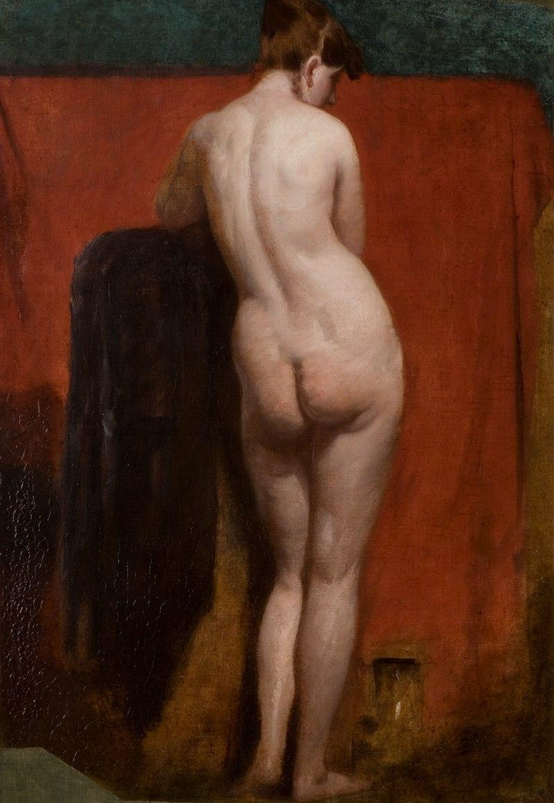 William Etty - Standing Female Nude.tif