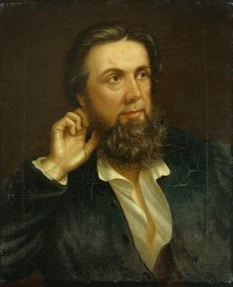 William Roos - Image: William Roos Talhaiarn (1864)