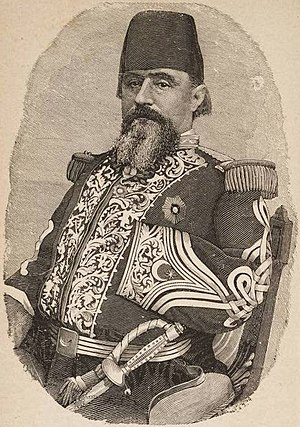 William Wing Loring - Loring Pasha as a general in the Khedivate of Egypt