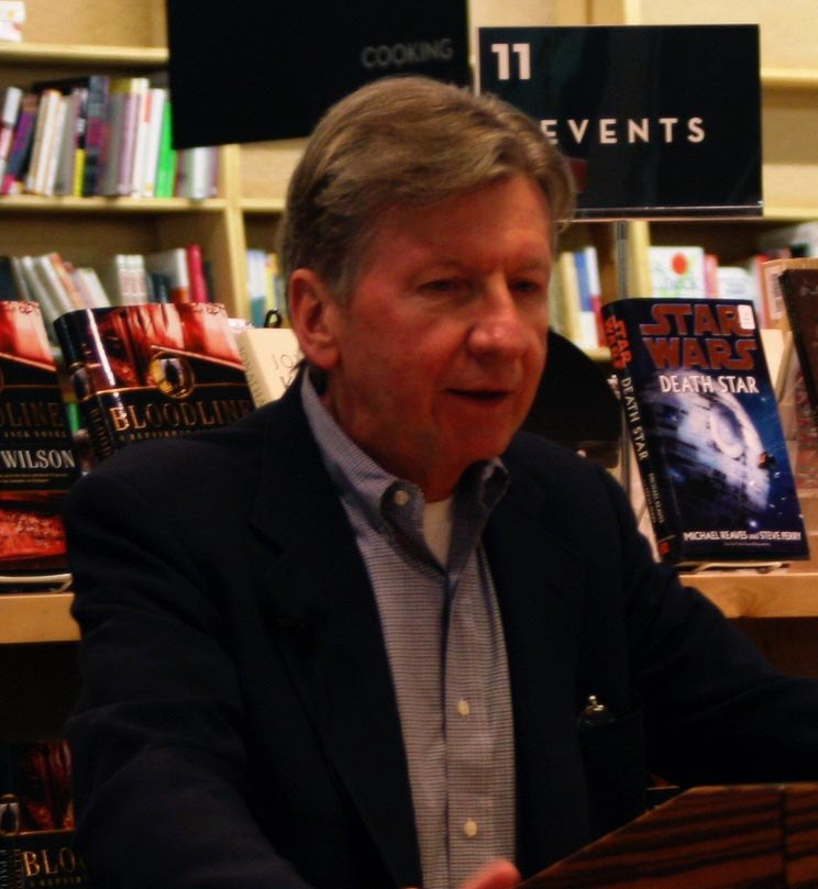 F. Paul Wilson at a book signing in 2007
