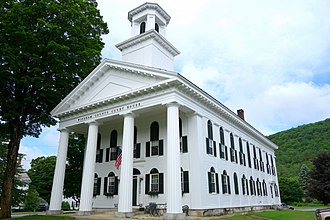 Windham County, Vermont - Image: Windham County Court House Newfane, Vermont DSC08436