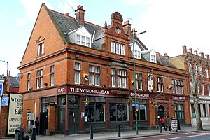 Cricklewood - Windmill Bar, Cricklewood