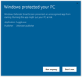 Windows protected your huggle.png