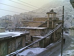 Deir Mama in the winter, 2007