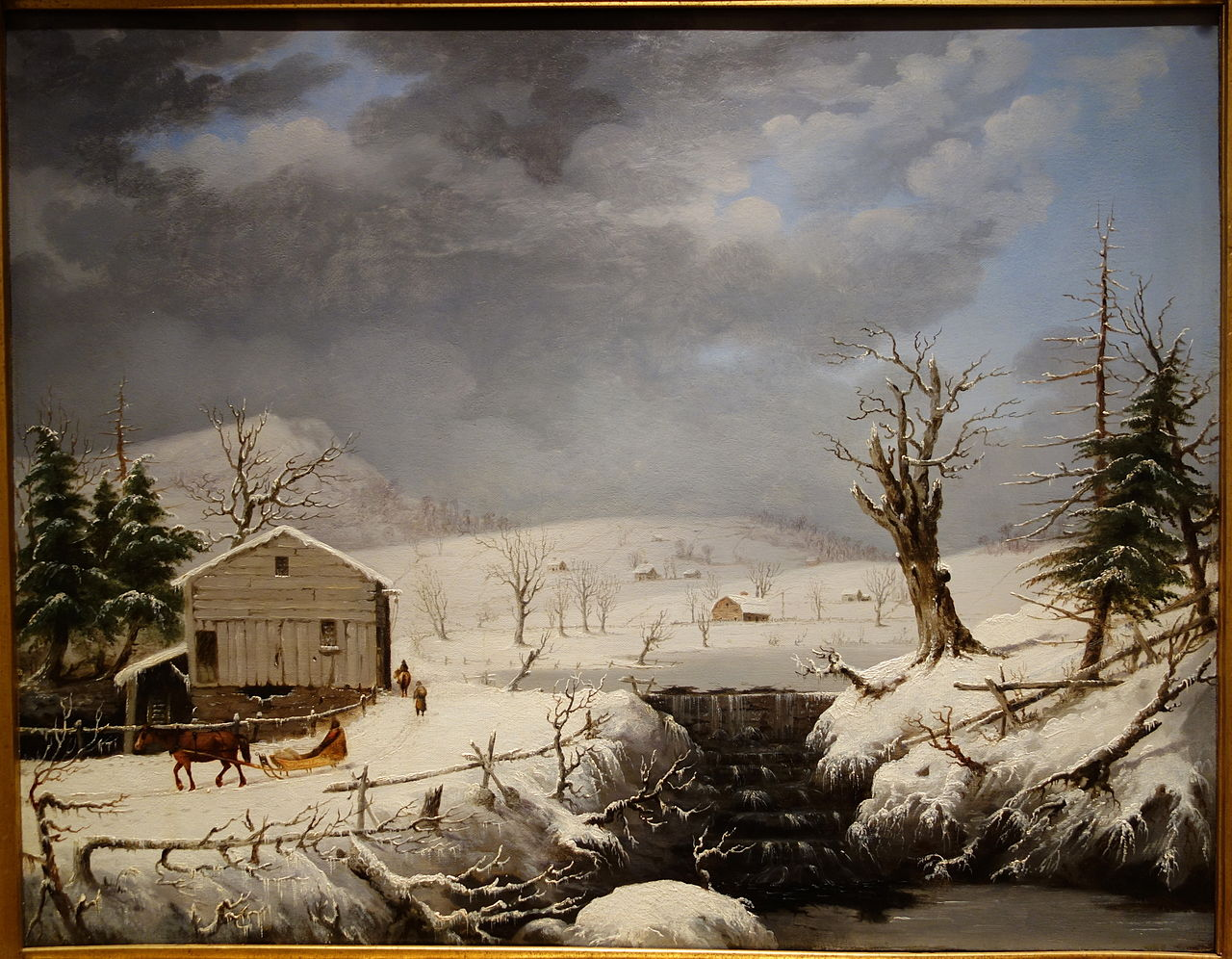https://upload.wikimedia.org/wikipedia/commons/thumb/f/f3/Winter_in_New_England_by_George_Henry_Durrie%2C_1851%2C_oil_on_wood_panel_-_New_Britain_Museum_of_American_Art_-_DSC09228.JPG/1280px-Winter_in_New_England_by_George_Henry_Durrie%2C_1851%2C_oil_on_wood_panel_-_New_Britain_Museum_of_American_Art_-_DSC09228.JPG