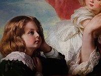 Winterhalter Eliza Krasińska with children (detail) 01.jpg