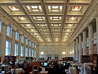 Wisconsin Historical Society - The library reading room.