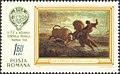 Wisent on stamps Romania 1968 Mamaia.jpg