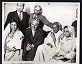 With Charlie Chaplin and Sarojini Naidu, during his visit to London.jpg