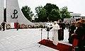 Wizyta Jana Pawła II w Sejmie Pomnik Armii Krajowej i Polskiego Państwa Podziemnego w Warszawie.jpg