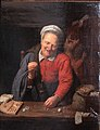 Woman weighting gold-David Ryckaert-MBA Lyon A2854-IMG 0403.jpg