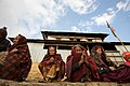 Women from a community that benefit from UK support in Rapasing, Nepal (6730937901).jpg