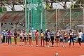 Women high jump French Athletics Championships 2013 t150313.jpg