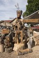 Wood carvings at the Rusty Moose store along U.S. Highway 550 in Ouray County, between Ridgway and Montrose, Colorado LCCN2015632489.tif