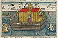 "Woodcut of Noah's Ark from Anton Koberger's ""German Bible"".jpg"
