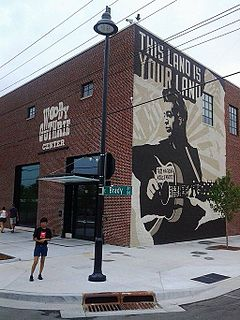 Woody Guthrie Center Biographical museum in Tulsa, Oklahoma