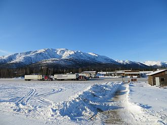 Coldfoot, Alaska - Truck stop in Coldfoot