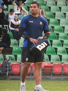 Wycliff Palu Australian rugby union and rugby league footballer