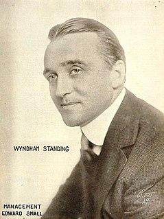 Wyndham Standing English actor
