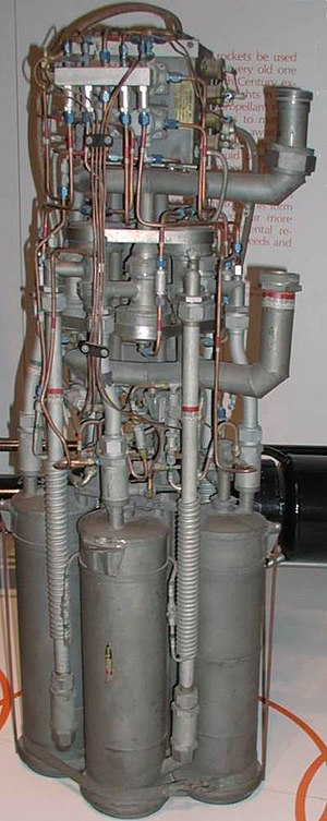 Bell X-1 - XLR-11 rocket engine