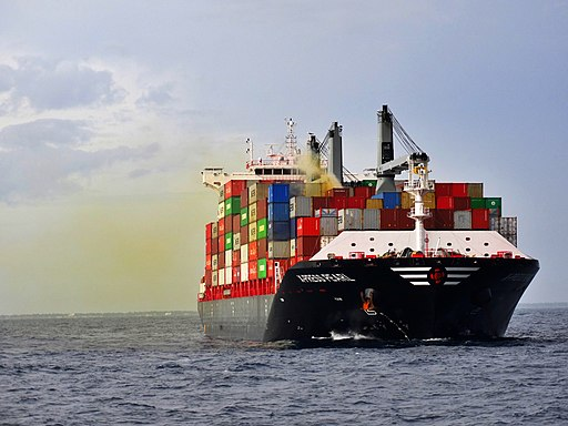 X-Press Pearl container ship