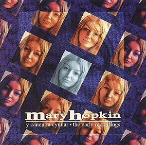 Mary Hopkin - Album cover of Y Caneuon Cynnar - The Early Recordings