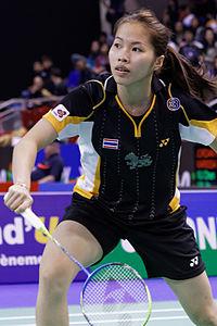 Yonex IFB 2013 - Quarterfinal - Wang Shixian vs Ratchanok Intanon 02.jpg