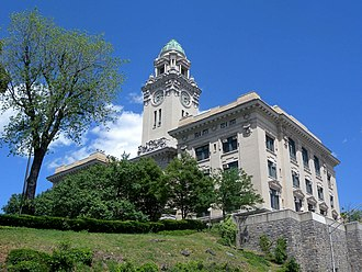 Edwin A. Quick - Yonkers City Hall, Yonkers, 1908.