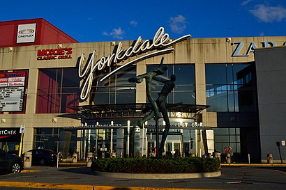 How to get to Yorkdale Shopping Centre with public transit - About the place