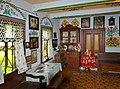 Zalipie museum - kitchen of the Felicja Curyłowa's farm 3.JPG