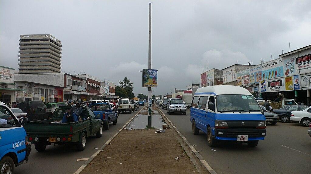 Zambia - Street in Lusaka.jpg