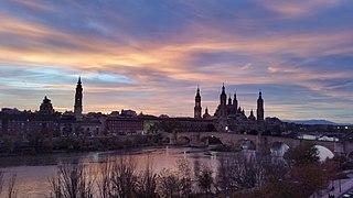 Zaragoza - Anochecer 01.jpg