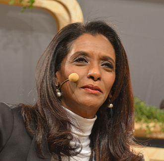 Zeinab Badawi - Zeinab Badawi at Nobel Week Dialogue in Stockholm December 2016
