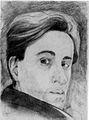 Zelfportret 23februari1942 van Cor van Teeseling (1915-1942).jpg