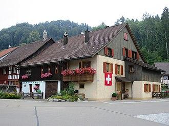 Zell, Zürich - Image: Zell Dorfplatz 2