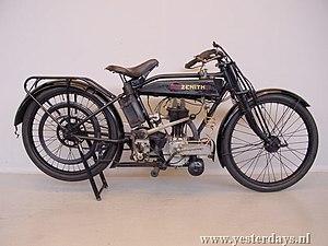 Zenith Motorcycles - 1924 Zenith JAP 346 cc