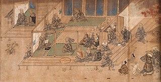 Biographie illustrée du moine Shinran