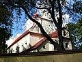 Zespół kościoła p.w. Wniebowzięcia NMP - kościół (fot.4) - Bystrzyca, gmina Wólka, powiat lubelski, woj. lubelskie ArPiCh A-563.JPG