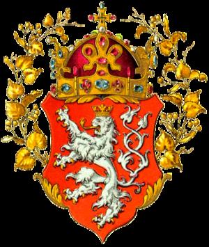 Bohemia national ice hockey team - Image: Znak českého království